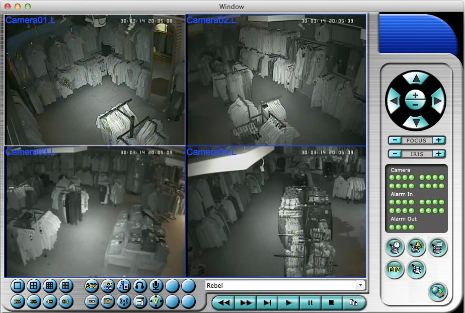 Business CCTV System - Night