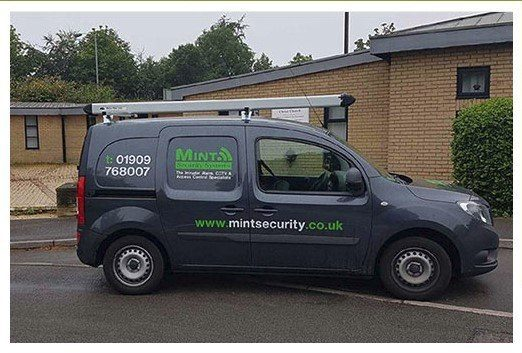 Mint Security van