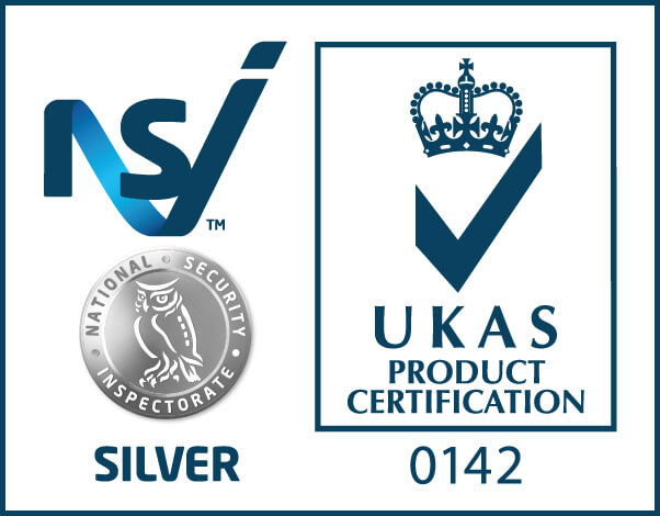 NSI Systems Silver - UKAS 014 logo