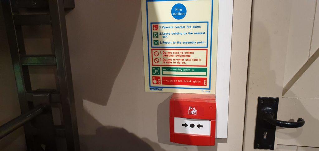 fire alarm servicing