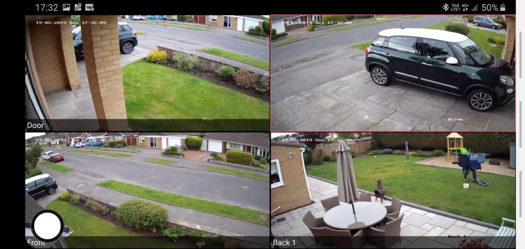 Tablet CCTV