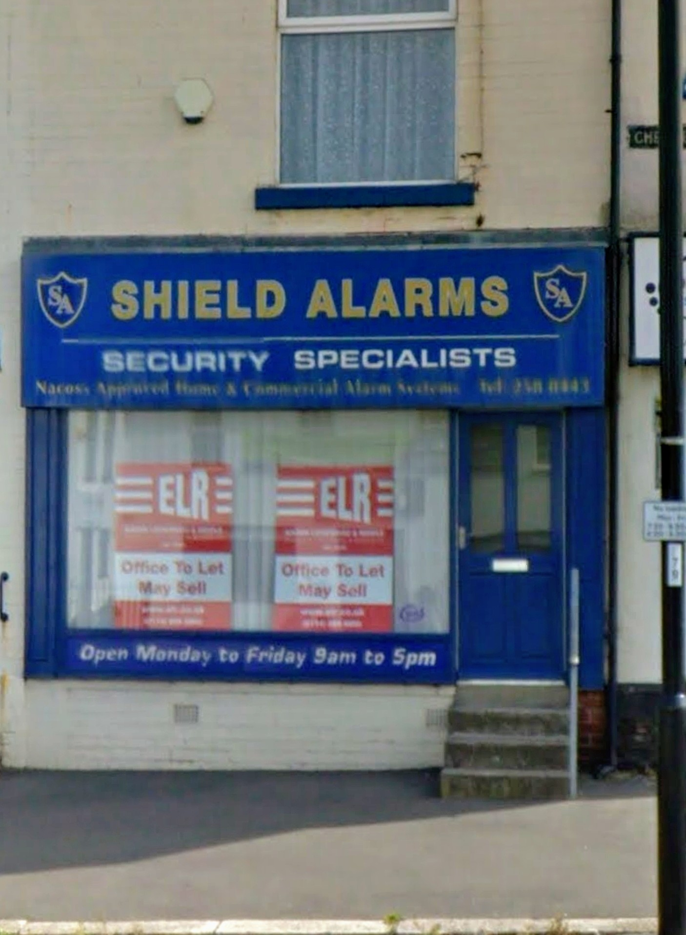 How to contact Shield Alarms of Sheffield 1