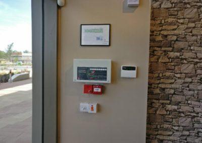 Fire alarm control pane;l