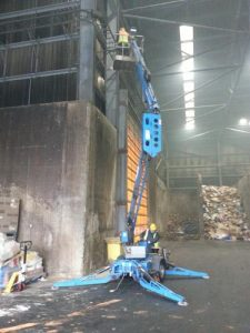 waste plant cctv