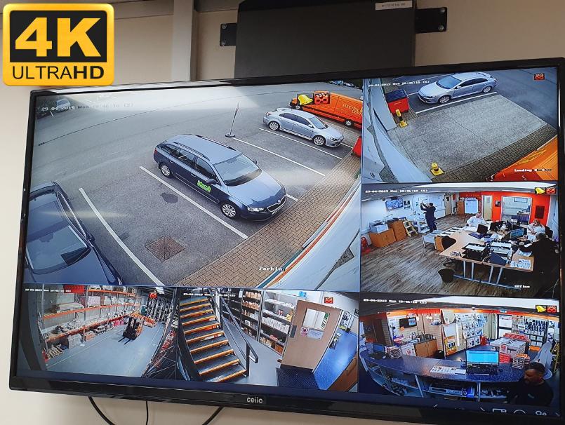 4K Business CCTV