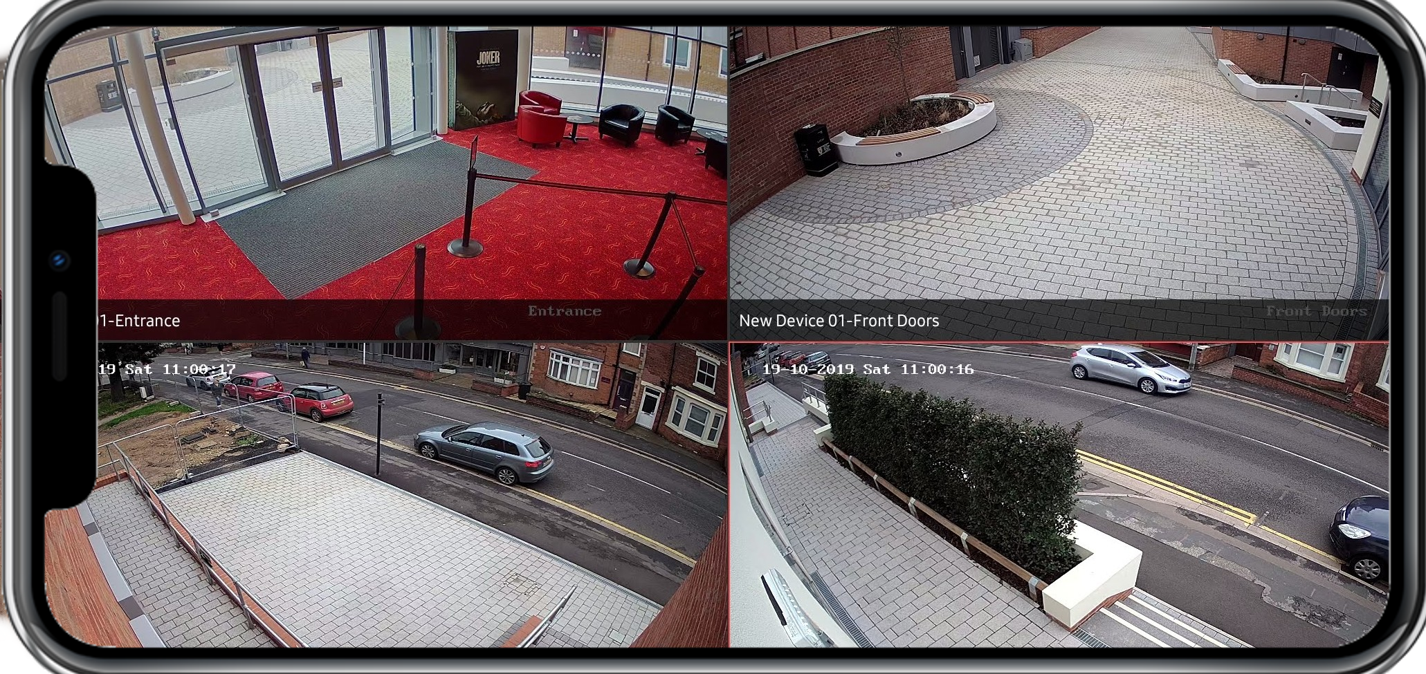 Business CCTV Remote View APP