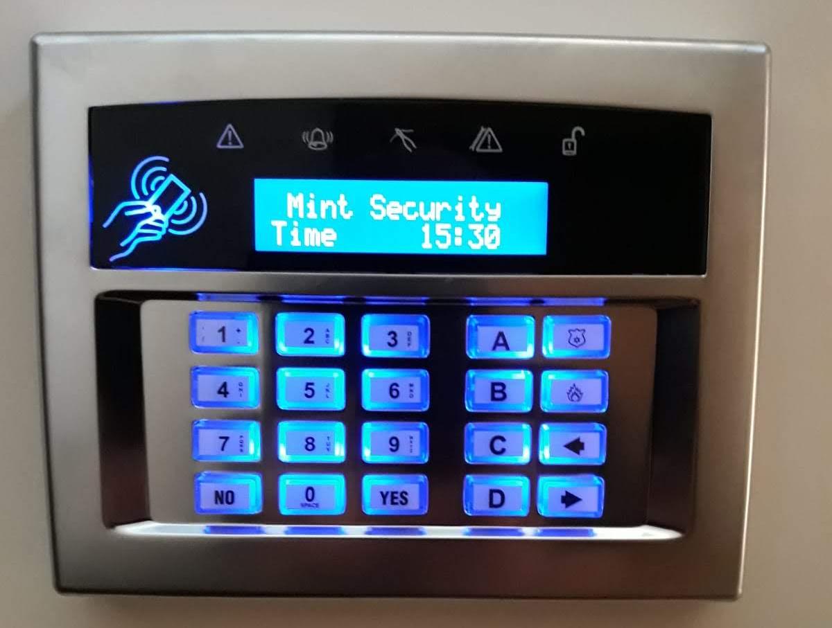 Euro46 Keypad wired alarm