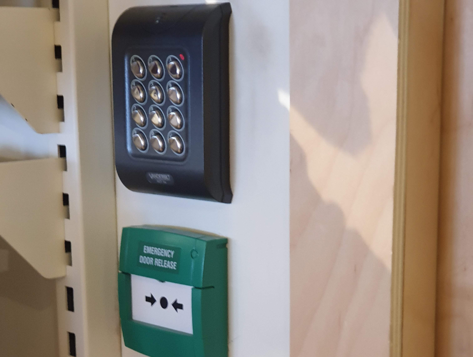 Simple Door Access Control