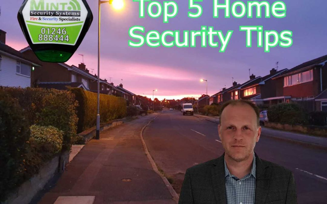 Dark Nights are Coming… 5 Home Security Tips