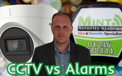 Burglar Alarm vs CCTV