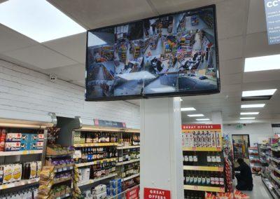 Shop cctv monitor