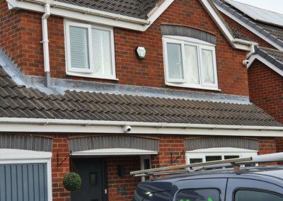 CCTV front garden camera