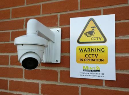 CCTV camera Nottingham