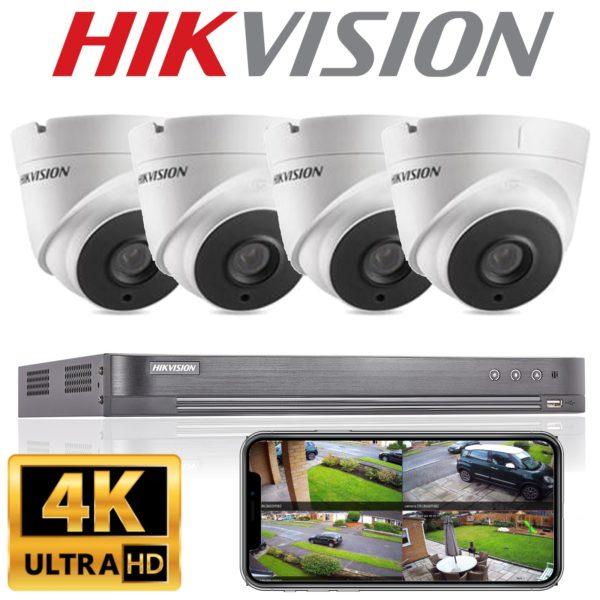 Hikvision 4k CCTV System