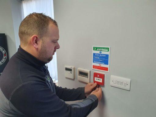 Fire alarm service retford